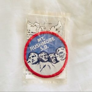 Vintage Accessories - Vintage Mt. Rushmore Voyager patch